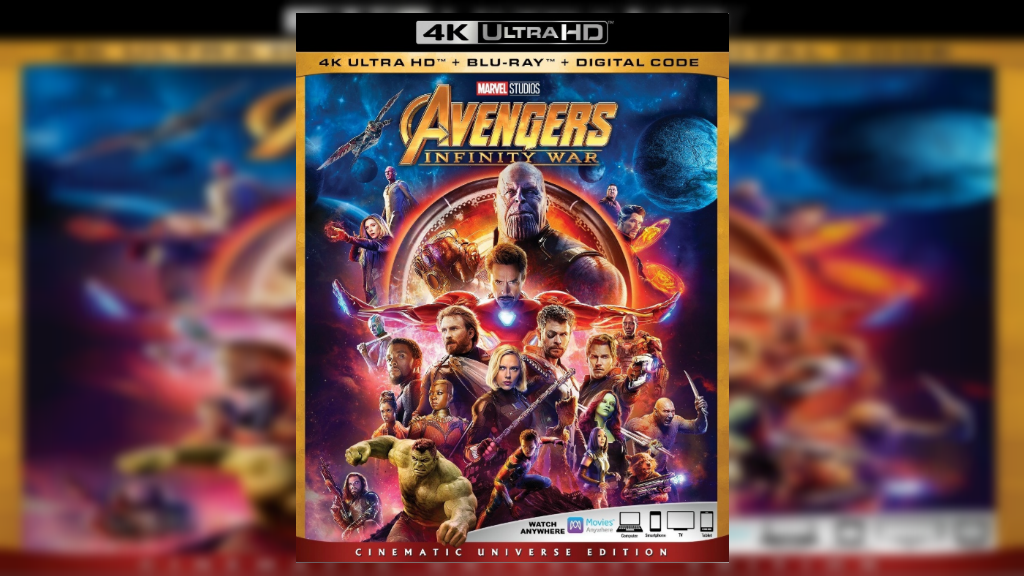 Avengers: Infinity War comes to Blu-ray and 4K UHD loaded