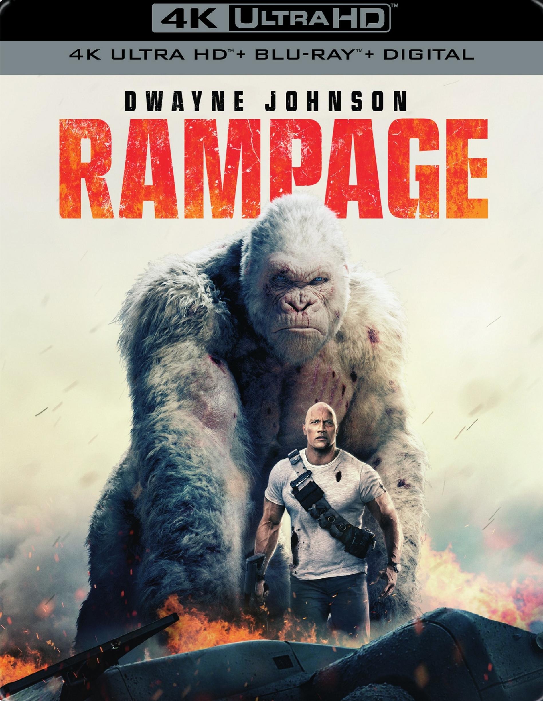 Rampage Blu Ray Disc Association