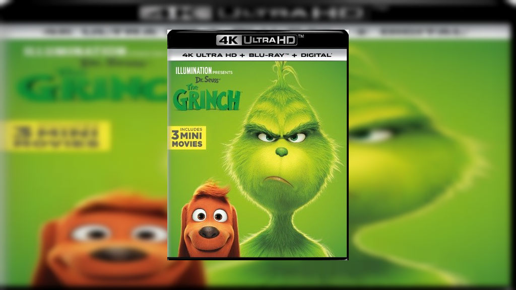 Dr  Seuss' The Grinch is back on Ultra HD and 3D Blu-ray